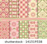 Abstract Vector Set Of Paper...