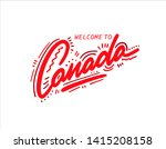 canada. name country word text... | Shutterstock .eps vector #1415208158