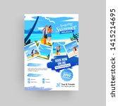 creative website poster  flyer... | Shutterstock .eps vector #1415214695