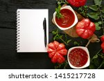 tomato sauce.homemade tomato...   Shutterstock . vector #1415217728