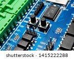 Blue Circuit Board Hardware...