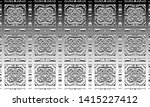 black and white relief convex...   Shutterstock . vector #1415227412