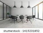 contemporary meeting room... | Shutterstock . vector #1415231852