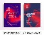 electronic music festival... | Shutterstock .eps vector #1415246525