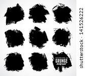 grunge background. watercolor... | Shutterstock .eps vector #141526222