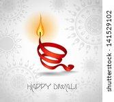 Happy diwali. Vector illustration. Eps 10. - stock vector