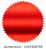 red diploma or certificate... | Shutterstock . vector #1415328758