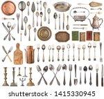 Set Of Beautiful Antique Items...