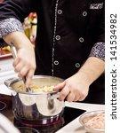 chef at work   Shutterstock . vector #141534982