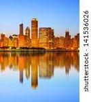 City Of Chicago Usa    Colorfu...