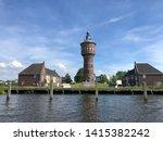 Watertower in Sneek, Friesland The Netherlands