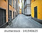 Streets Of Old Town . Stockholm