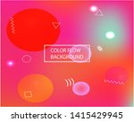 bright blend texture picture.... | Shutterstock .eps vector #1415429945