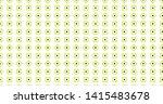 circle and dot pattern green... | Shutterstock . vector #1415483678