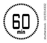 the 60 minutes countdown timer...