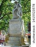 high dynamic range hdr statue... | Shutterstock . vector #1415523578