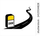 milestone icon  road side... | Shutterstock .eps vector #1415534828