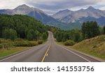 wilson peak and the san juan... | Shutterstock . vector #141553756