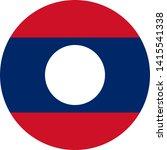 laos flag illustration vector... | Shutterstock .eps vector #1415541338