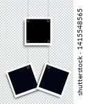 retro realistic photo frame...   Shutterstock .eps vector #1415548565
