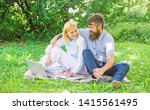 couple youth spend leisure... | Shutterstock . vector #1415561495