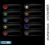 button   detailed vector design