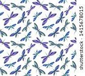 vector illustration of brightly ... | Shutterstock .eps vector #1415678015