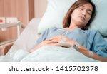 illness asia patient women and... | Shutterstock . vector #1415702378