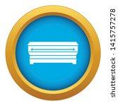coffin icon blue vector...   Shutterstock .eps vector #1415757278