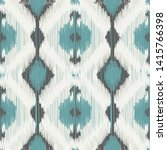 seamless ikat pattern. abstract ... | Shutterstock .eps vector #1415766398