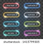 Shop Vector Glow Buttons. Neon...