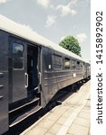 old vintage railway carriages.... | Shutterstock . vector #1415892902