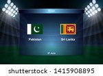 Pakistan Vs Sri Lanka Cricket...