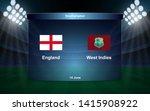 England Vs West Indies Cricket...