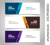 abstract vector banner.modern... | Shutterstock .eps vector #1415928032