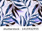 tropical  pattern with palm... | Shutterstock .eps vector #1415932955