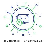 computer line icon. pc mouse... | Shutterstock .eps vector #1415942585