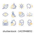 mint leaves  disabled and face... | Shutterstock .eps vector #1415948852