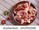 dumplings  filled with... | Shutterstock . vector #1415952008
