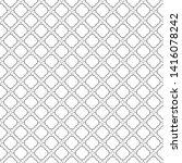 seamless vector pattern in... | Shutterstock .eps vector #1416078242