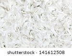 Stock photo background of artificial rose petals 141612508