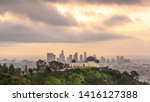 griffith observatory and los... | Shutterstock . vector #1416127388