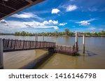 amphawa floating market samut...   Shutterstock . vector #1416146798