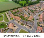 Aerial Photo Of A Typical Uk...