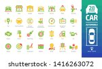 car color icon set with basic...   Shutterstock .eps vector #1416263072