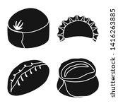 vector design of cuisine  and... | Shutterstock .eps vector #1416263885