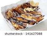 Dessert Style Of Fried Roti...