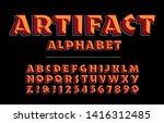 Artifact Alphabet Is A Bold...
