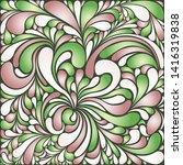 silk texture fluid shapes ...   Shutterstock .eps vector #1416319838