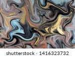 marble abstract acrylic... | Shutterstock . vector #1416323732